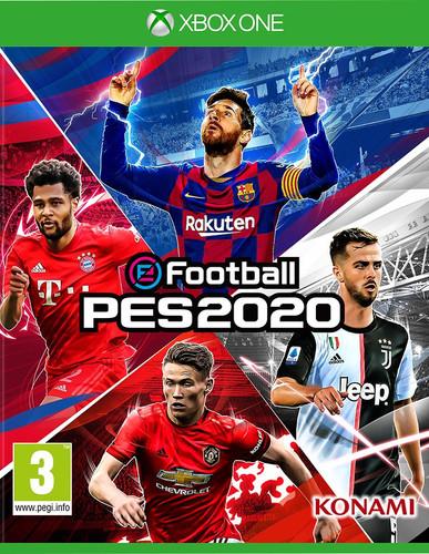PES 2020 Xbox One Main Image