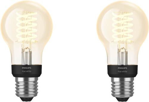 Philips Hue Filament Light White Standard E27 Bluetooth Duo Pack Main Image