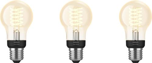 Philips Hue Filament Light White Standard E27 Bluetooth 3-pack Main Image