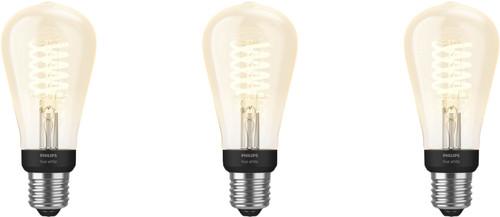 Philips Hue Filament Light White Edison E27 Bluetooth 3-pack Main Image