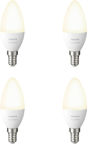 Philips Hue Kaarslamp White E14 Bluetooth 4-Pack Main Image