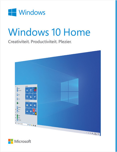 Microsoft Windows 10 Home 32/64-bit NL Main Image