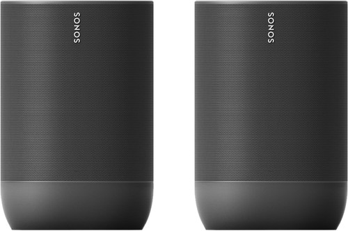 Sonos Move Duo Pack Black Main Image