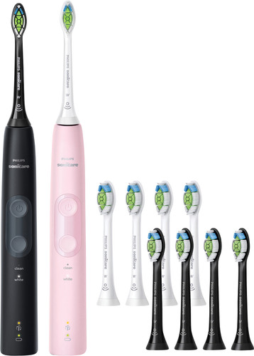 Philips Sonicare ProtectiveClean 4500 HX6830/34 + Optimal White (8 units) Main Image