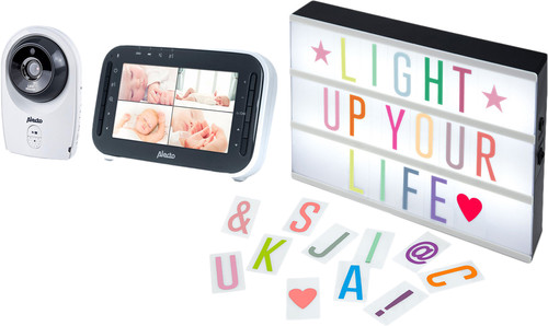 Alecto DVM-143 + Alecto Letter Light Box Main Image
