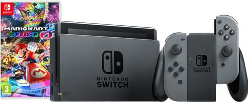 Nintendo Switch (2019 Upgrade) Grijs Mario Kart Bundel Main Image