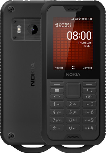 Nokia 800 Tough Black Main Image