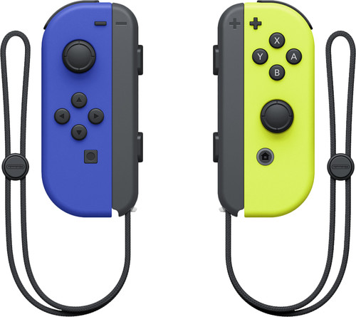 Nintendo Switch Joy-Con set Blauw/Neon Geel Main Image