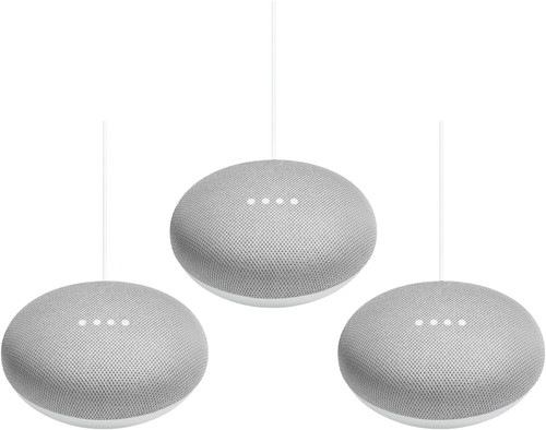 Google Nest Mini Wit 3-Pack Main Image