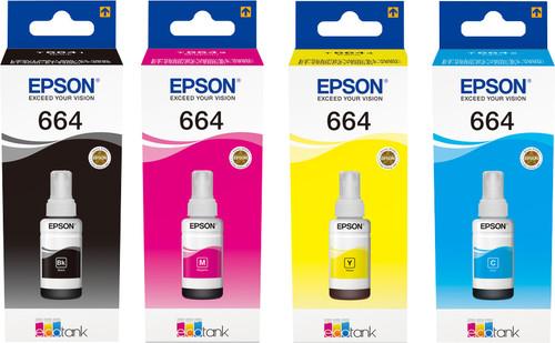 Epson T664 Inktflesjes Combo Pack Main Image