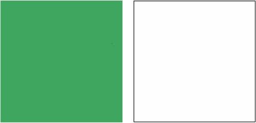 Falcon Eyes Achtergrondpapier (set van 3x wit en 1x groen) Main Image