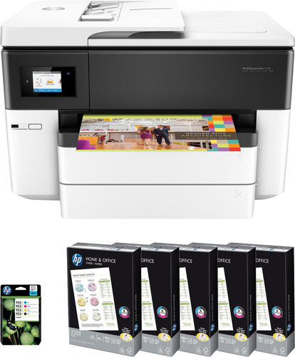 HP OfficeJet Pro 7740 starter pack Main Image