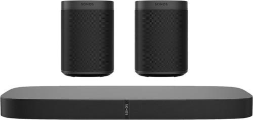 Sonos Playbase 5.0 + One SL (2x) Zwart Main Image
