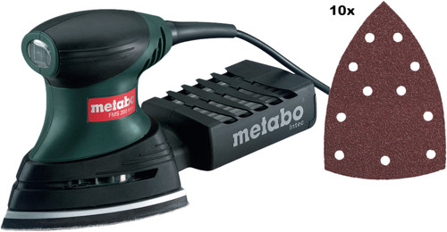 Metabo FMS 200 Intec + Sandpaper Set Main Image