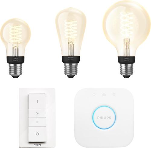 Philips Hue Filament Light White E27 Bluetooth Starter Pack Main Image
