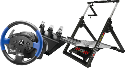 Thrustmaster T150 RS Pro + Next Level Racing Wheel Stand Main Image