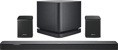 Bose Soundbar 500 5.1 + Bose Surround Speakers Zwart + Bose Bass Module 500 Zwart Main Image