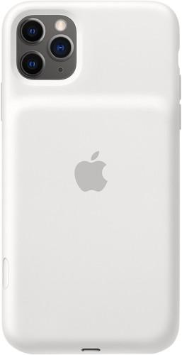 Apple iPhone 11 Pro Max Smart Battery Case met Draadloos Opladen Wit Main Image