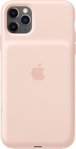 Apple iPhone 11 Pro Max Smart Battery Case met Draadloos Opladen Rozenkwarts Main Image