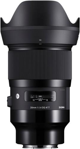 Sigma 28mm f/1.4 DG HSM Art Sony Main Image