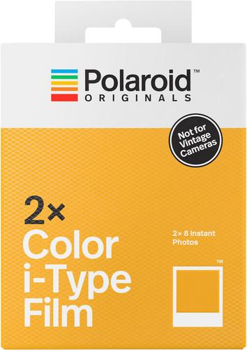 Polaroid Originals Color Instant Fotopapier i-Type Film Double Pack Main Image