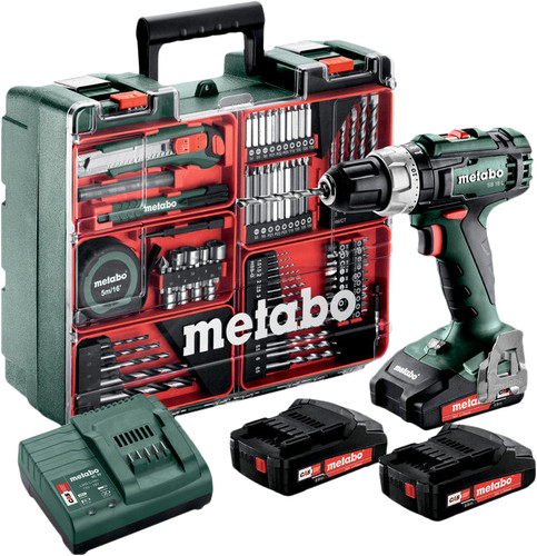 Metabo SB 18 L Mobile + 3 batteries Main Image