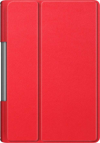 Just in Case Smart Tri-Fold Lenovo Yoga Smart Tab Book Case Red Main Image