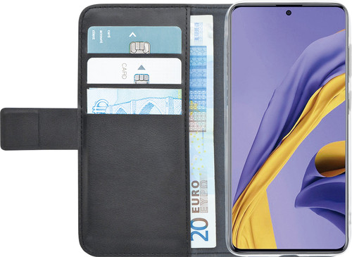 Azuri Wallet Samsung Galaxy A51 Book Case Zwart Main Image