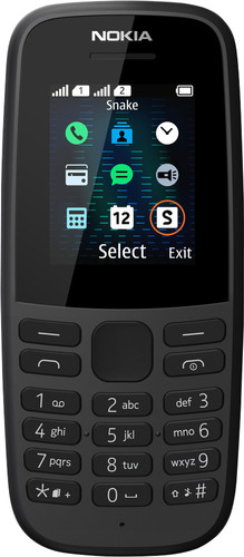 Nokia 105 Zwart Main Image