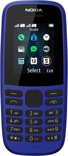 Nokia 105 Blue Main Image