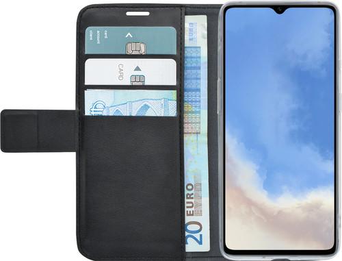 Azuri Wallet Magneet OnePlus 7T Book Case Zwart Main Image