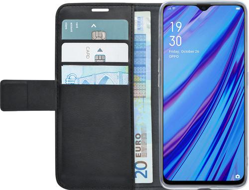 Azuri Wallet Magneet Oppo A5/A9 (2020) Book Case Zwart Main Image