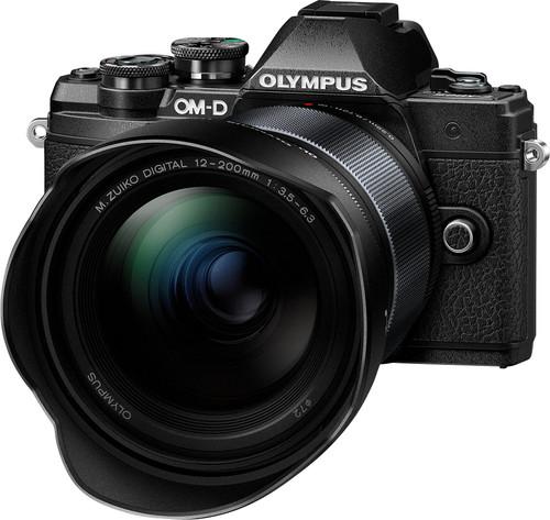 Olympus OM-D E-M10 Mark III Zwart + 12-200mm f/3.5-6.3 Zwart Main Image