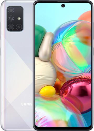 Samsung Galaxy A71 128 GB Zilver Main Image