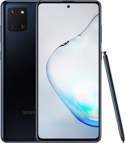 Samsung Galaxy Note 10 Lite 128 GB Zwart Main Image