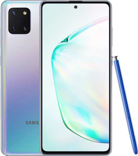 Samsung Galaxy Note 10 Lite 128 GB Zilver Main Image
