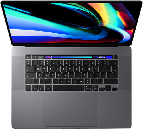 Apple MacBook Pro 16 inch (2019) 2,6 GHz i7 16/512 GB 5500M 4 GB Main Image