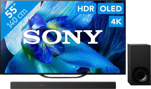 Sony KD-55AG8 + Soundbar Main Image