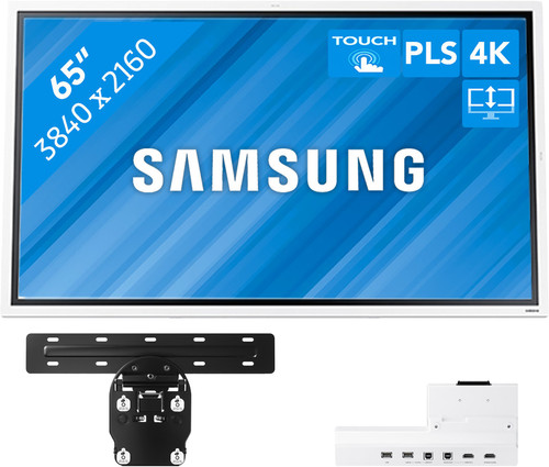 Samsung Flip 2 65 inches with Wall Mount and Connectivity Tray Main Image