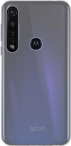 Azuri TPU Motorola Moto G8 Plus Back Cover Transparant Main Image