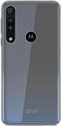 Azuri TPU Motorola One Macro Back Cover Transparant Main Image