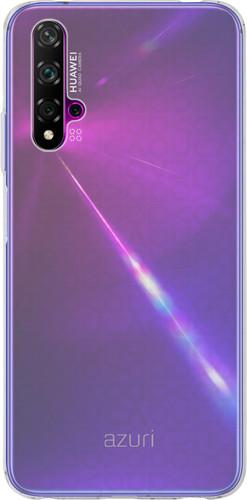 Azuri TPU Huawei Nova 5T Back Cover Transparant Main Image