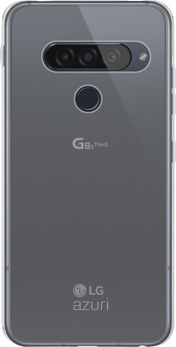 Azuri TPU LG G8s ThinQ Back Cover Transparant Main Image