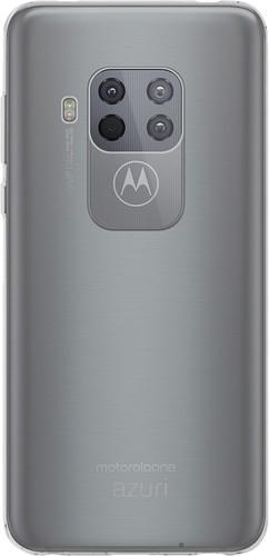 Azuri TPU Motorola One Zoom Back Cover Transparant Main Image