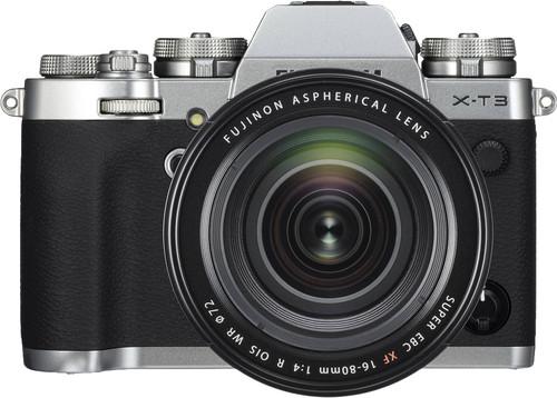 Fujifilm X-T3 Zilver + XF 16-80mm f/4 R OIS WR Zwart Main Image