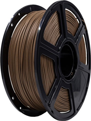 3D&Print WOOD Donkere Filament 1.75 mm (1 kg) Main Image
