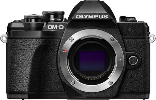 Olympus OM-D E-M10 Mark III + 14-42mm + 40-150mm Travelkit Zwart Main Image