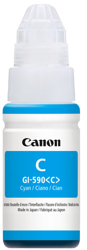 Canon GI-590 Ink Bottle Cyan Main Image