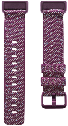 Fitbit Charge 4 Nylon Bandje Paars S Main Image
