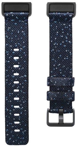 Fitbit Charge 4 Nylon Bandje Blauw S Main Image